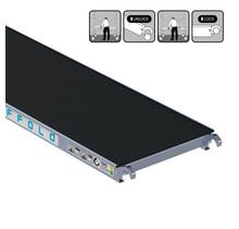 Rolsteiger platform zonder luik 190 cm carbon vloer (lichtgewicht)