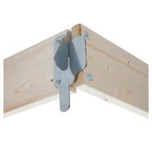 Kantplankset hout 305x75 cm
