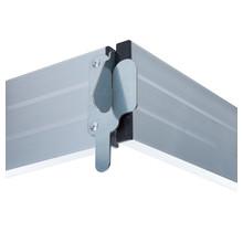 Kantplankset aluminium 190x75 cm