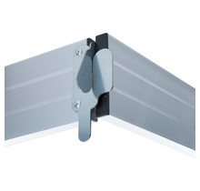 Kantplankset aluminium 250x75 cm