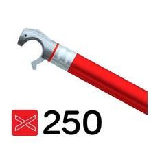 Rolsteiger diagonaal schoor 250 cm rood