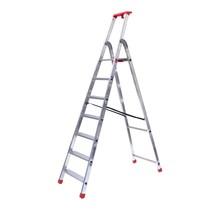Semi-professionele trap enkel 1x7 treden inclusief platform