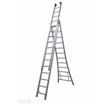 Ladder Type DB driedelig uitgebogen 3x12 sporten