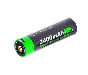 Nextorch 18650 USB Rechargeable Li-ion battery