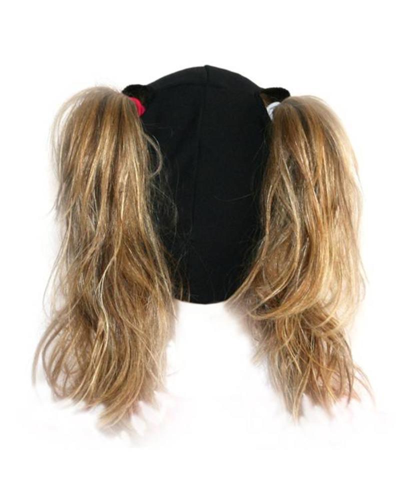 BONDIBAND BondiBand - Muts Wicking Pigtail zwart