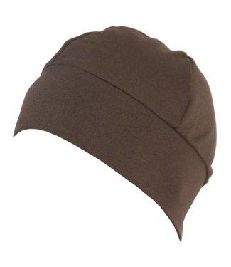 BONDIBAND Dames hardloop muts Wicking Hat choco