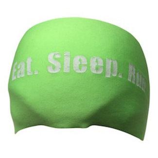BONDIBAND Haarband neon green Eat Sleep Run