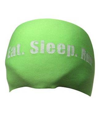 BONDIBAND Haarband neon green Eat Sleep Run
