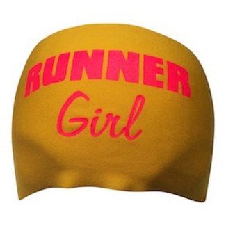 BONDIBAND Haarband Yellow Runner Girl