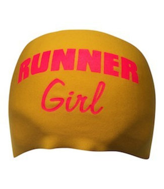 BONDIBAND Haarband Yellow Runner Girl