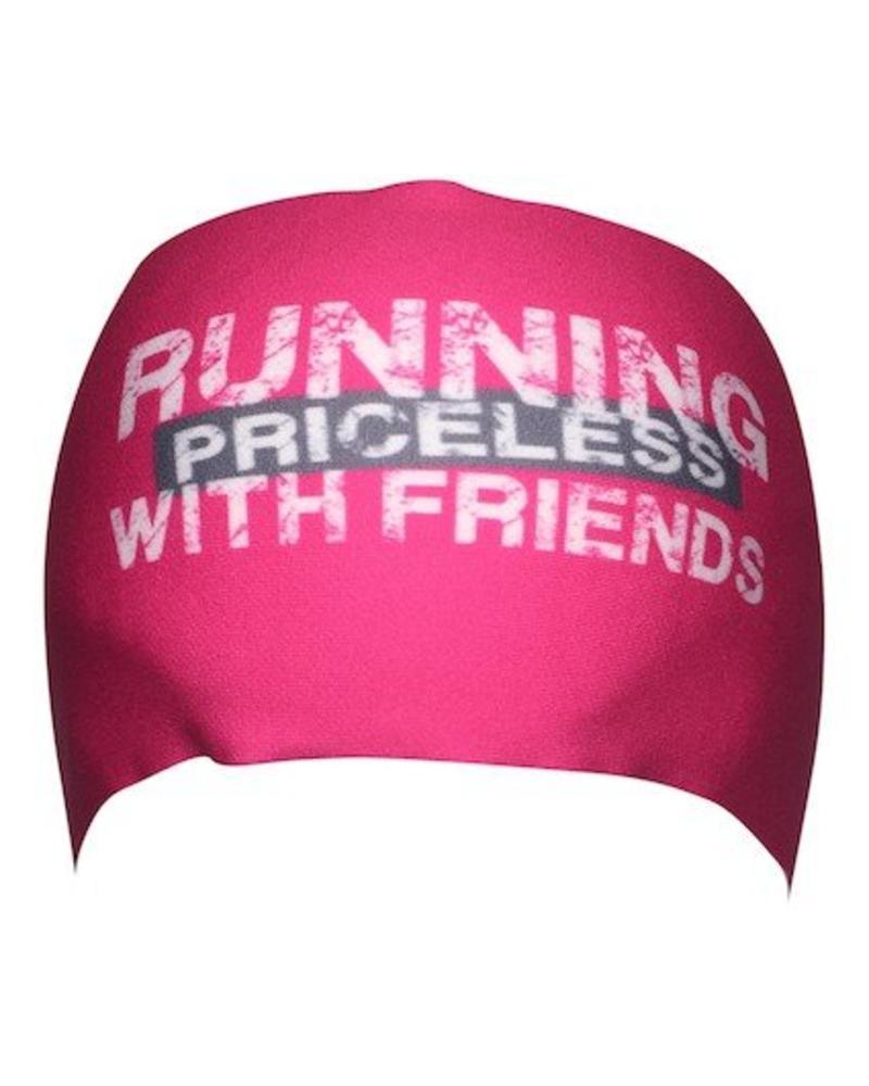 BONDIBAND BondiBand HB - Pink Running with friends priceless