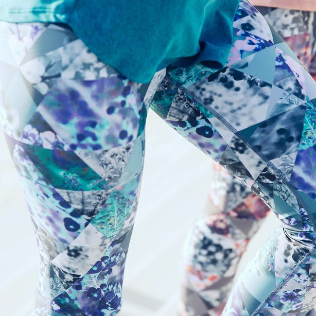 LA ROCHA Crystal Blue - Long Tights