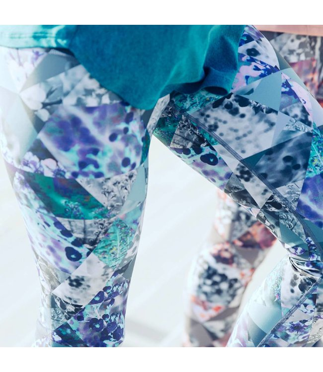 LA ROCHA Crystal Blue - Long Tights