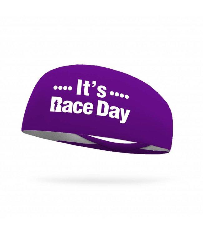 BONDIBAND Haarband It's race day Purple