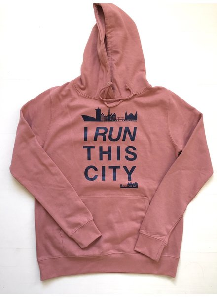 I RUN THIS CITY I Run This City Amsterdam hoodie lichtkoraal