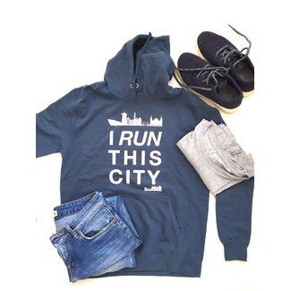 I RUN THIS CITY I Run This City Amsterdam hoodie blauw