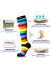 NEWZILL Newzill compressiekousen VIBE Rainbow