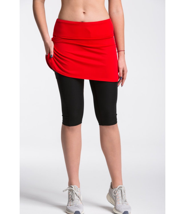 POLKA SPORT Capri Skirt Irene Red