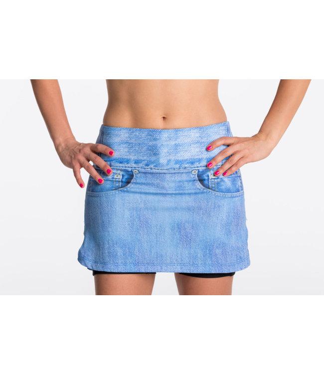 POLKA SPORT Skirt Irene Jeans - de laatste - maat XS