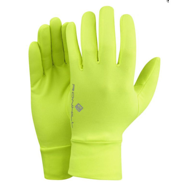 RON HILL Classic Glove Neon Geel