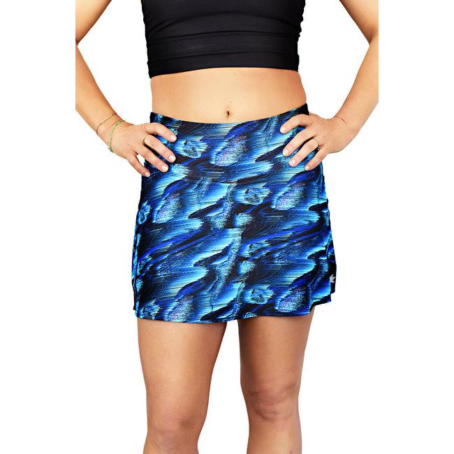 BLYSS RUNNING Running Skirt Ocean