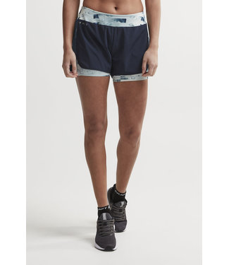 CRAFT  2-in-1 Charge Shorts - Blaze Jumble