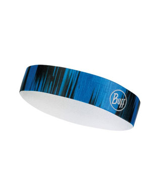 BUFF Wide Haarband R-Pulse Cape Blue