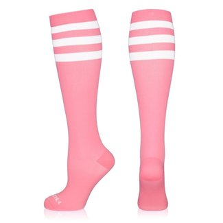 NEWZILL Compressiekousen 24/7 Pink and white