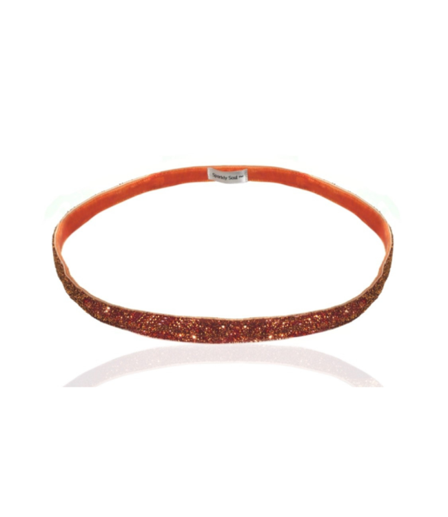 SPARKLY SOUL Haarband Orange Smal
