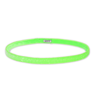 SPARKLY SOUL Haarband Neon Groen Smal