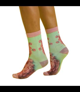 SOCK MY FEET Sock My Icecream groen