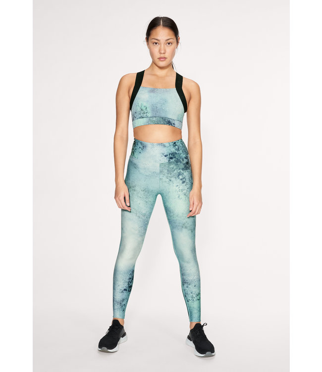 RÖHNISCH Flattering Keira Printed Tights Green Space Dyed