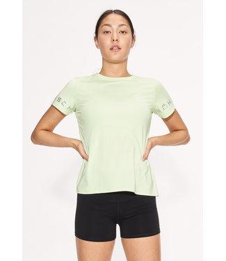 RÖHNISCH Dames hardloopshirt Heritage Lime Cream