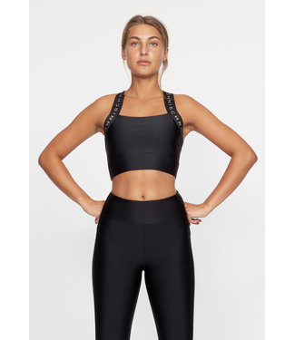 RÖHNISCH Shiny Kay Sports Bra Black