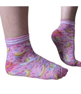 SOCK MY FEET Dames hardloop sokken Sock My Feet Sprinkle Banana
