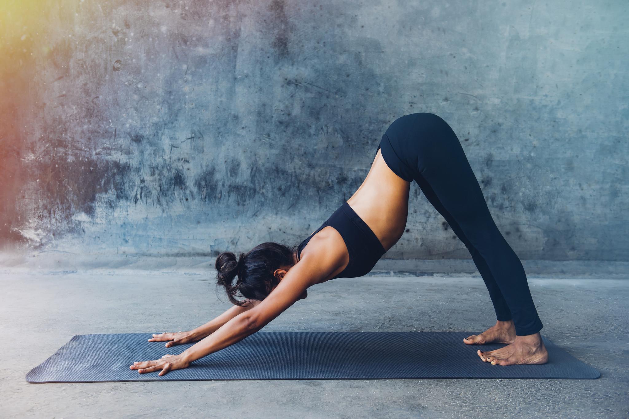 Goede yoga poses voor hardlopers
