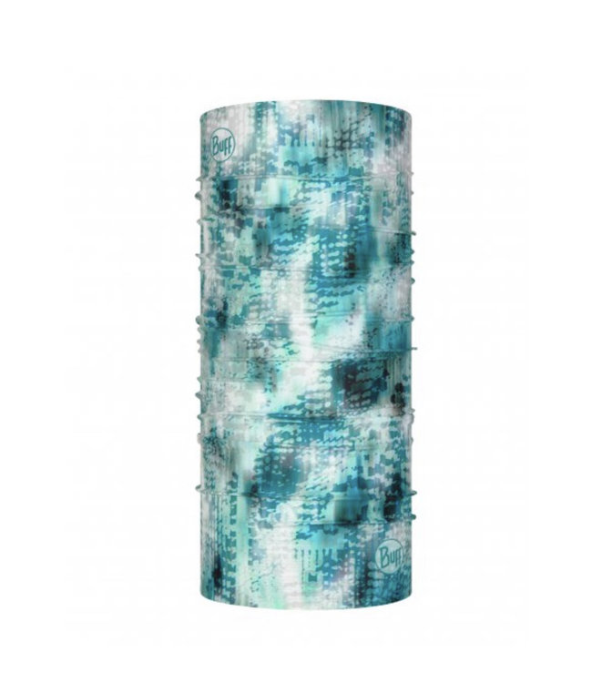 BUFF Nekwarmer Coolnet Uv+ Blauw Turquoise
