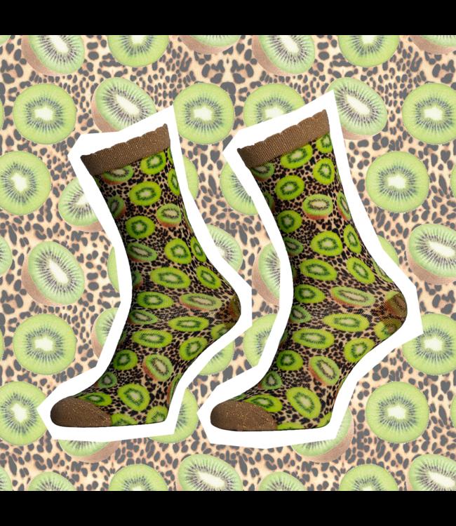 SOCK MY FEET Dames hardloop sokken Sock My Feet Kiwi
