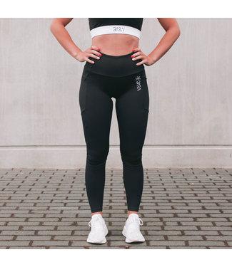 BARA Sportswear Dames hardloopbroek Black Icon