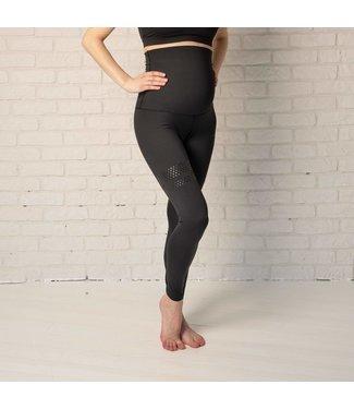 BARA Sportswear Zwangerschap hardloopbroek zwart