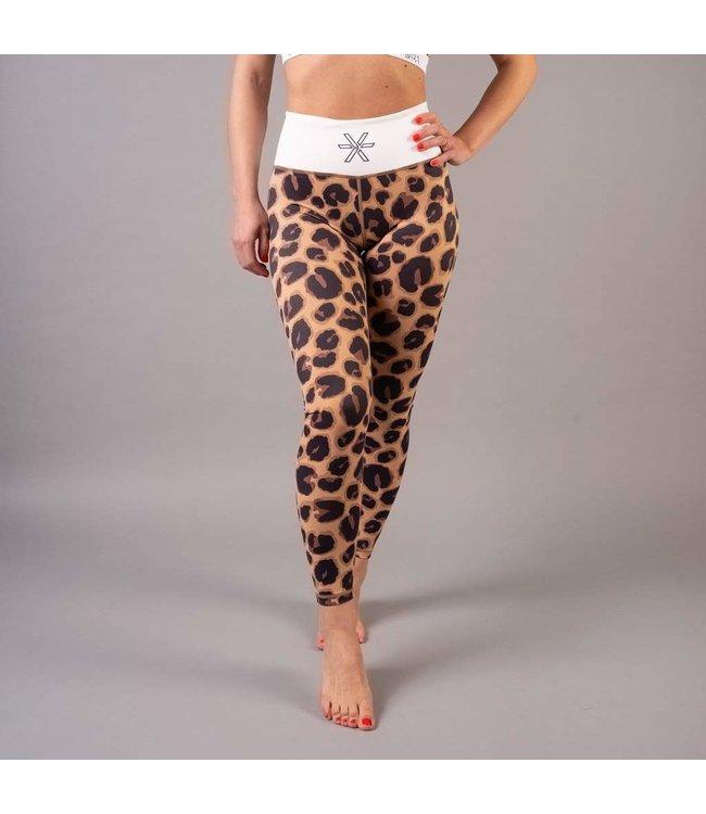 BARA Sportswear Hardloopbroek dames Brown Wild