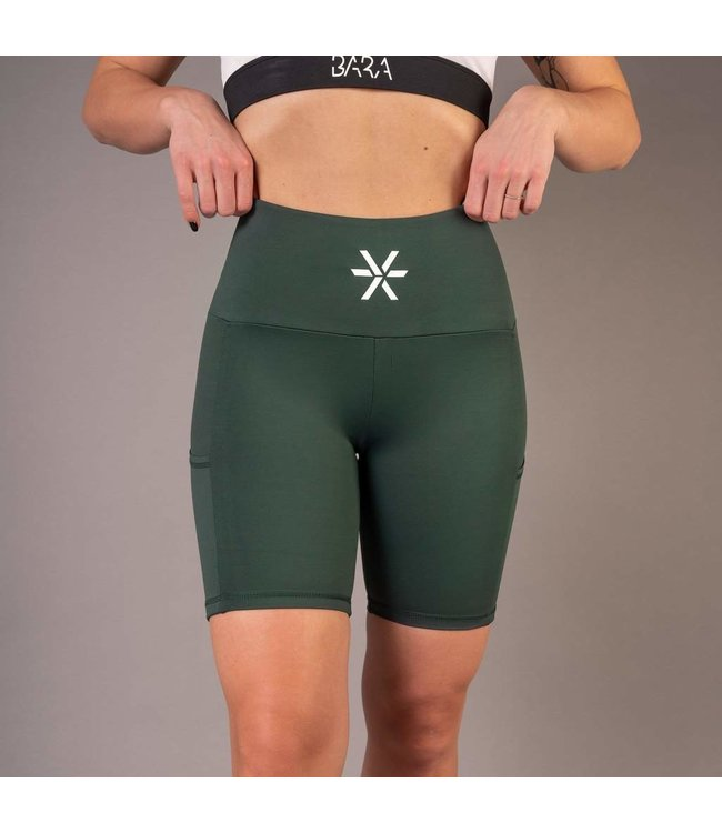 BARA Sportswear Dames hardloop short Pine Pockets