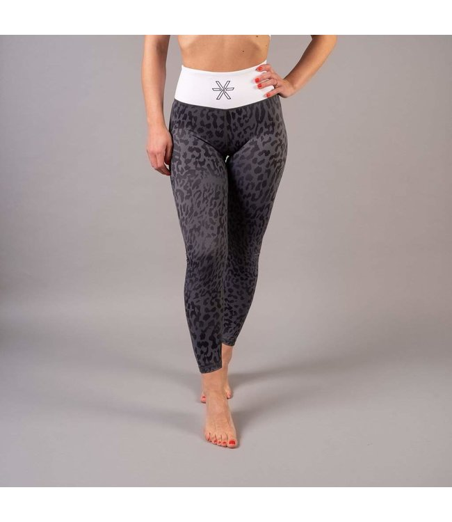 BARA Sportswear Dames hardloopbroek lang Grey Wild