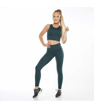 BARA Sportswear Dames hardloopbroek lang Shape Pine