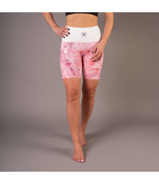 BARA Sportswear Dames hardloopbroek kort Pink Ice