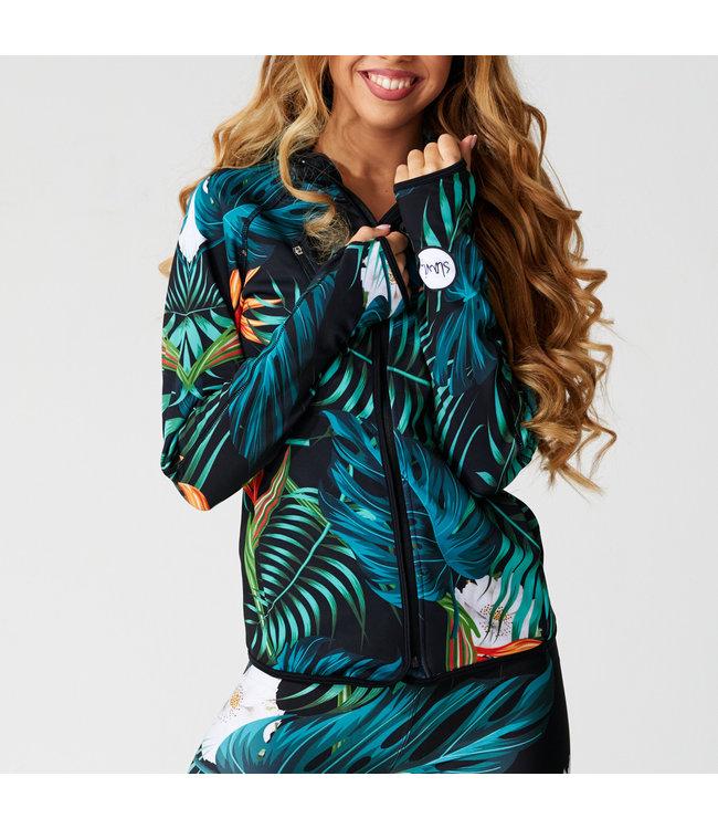 SLAVI  Dames hoodie Jungle