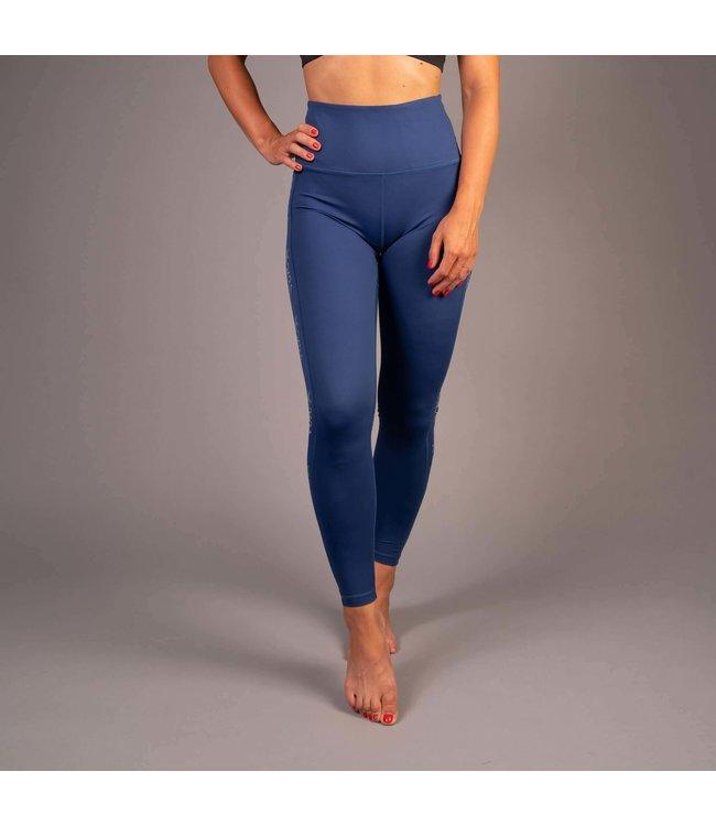 BARA Sportswear Dames hardloopbroek lang Identity Blauw