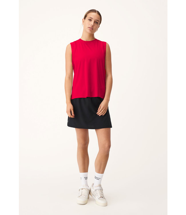 RÖHNISCH Dames hardloopshirt mouwloos Kay Singlet Flame Scarlet