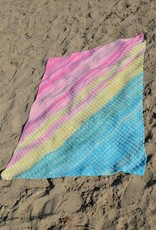 Crochet kit Sunset Sky Summer Blanket