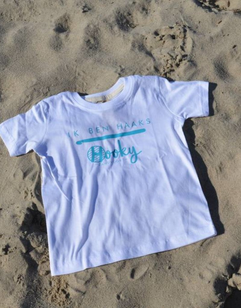Kinder T-shirt Organic Cotton 'Ik ben haaks'